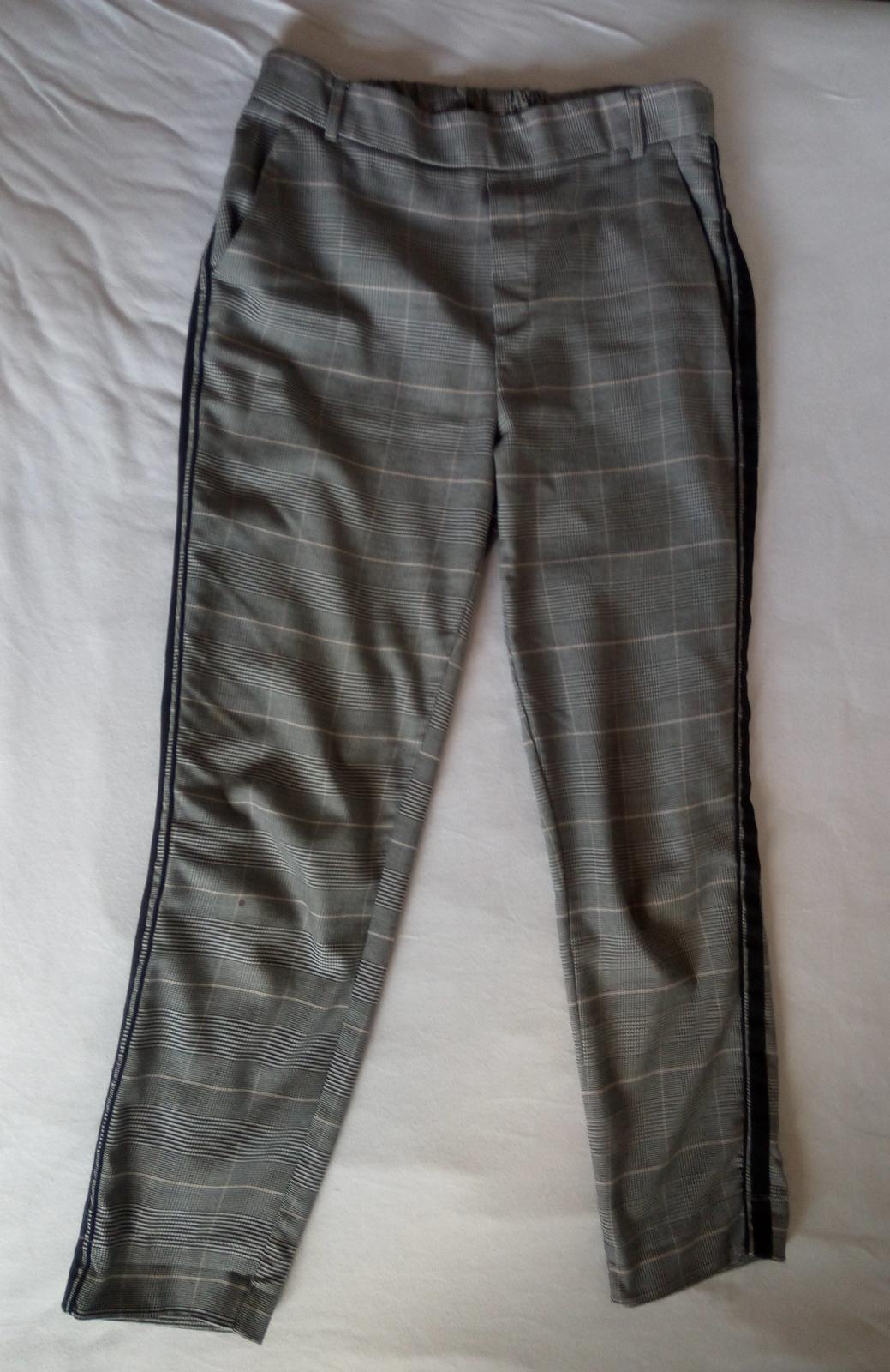 Kárované nohavice S - Obrázok č. 2