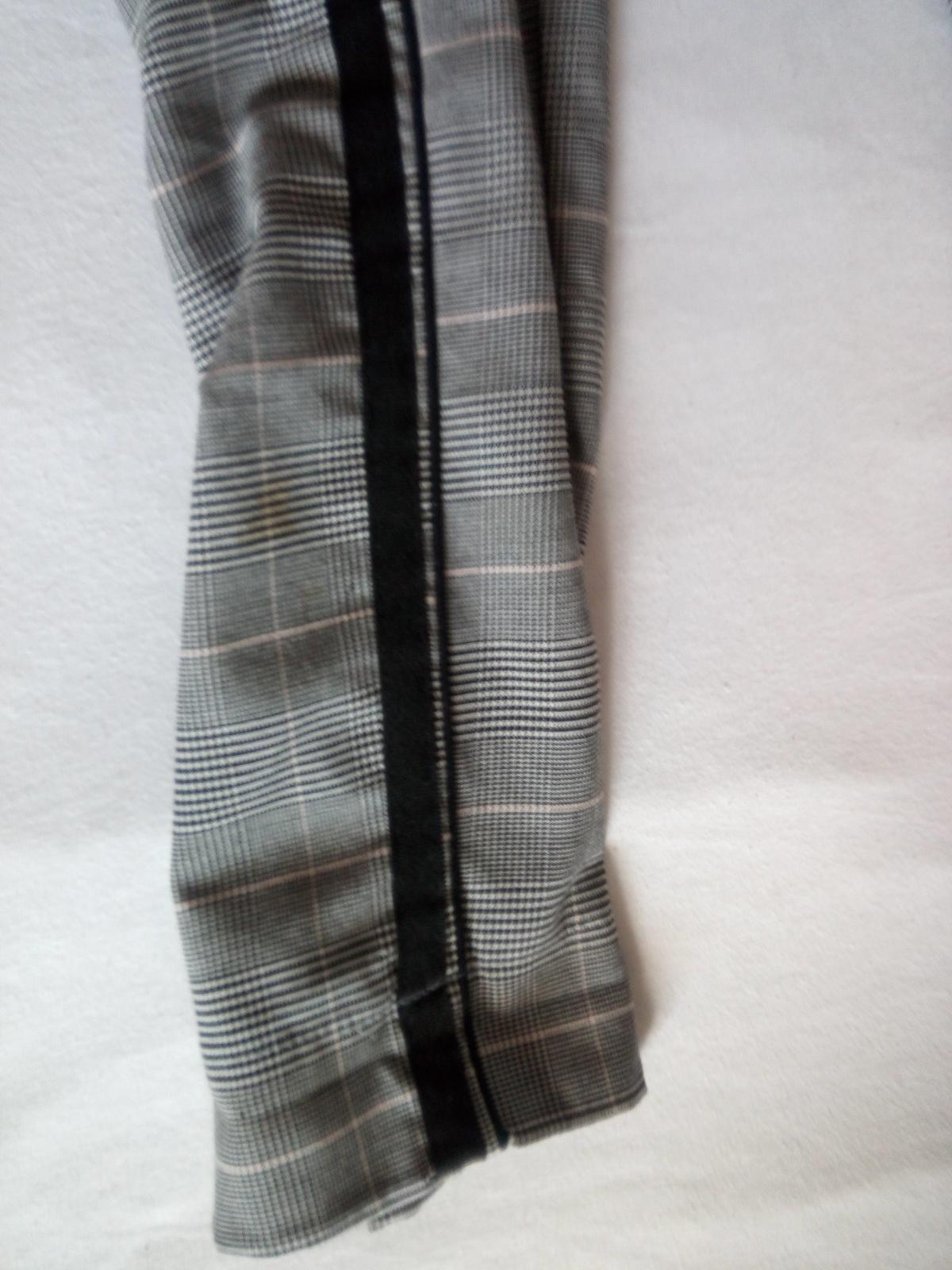 Kárované nohavice S - Obrázok č. 3