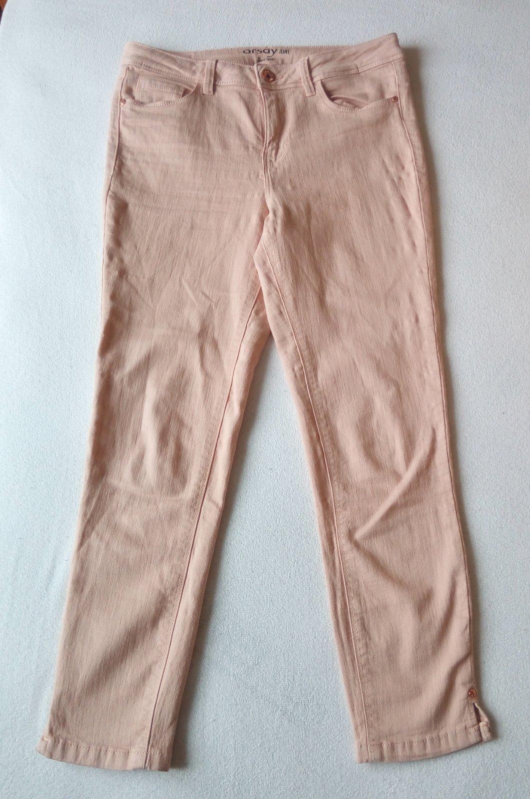 Bledoružové nohavice Orsay S - Obrázok č. 1