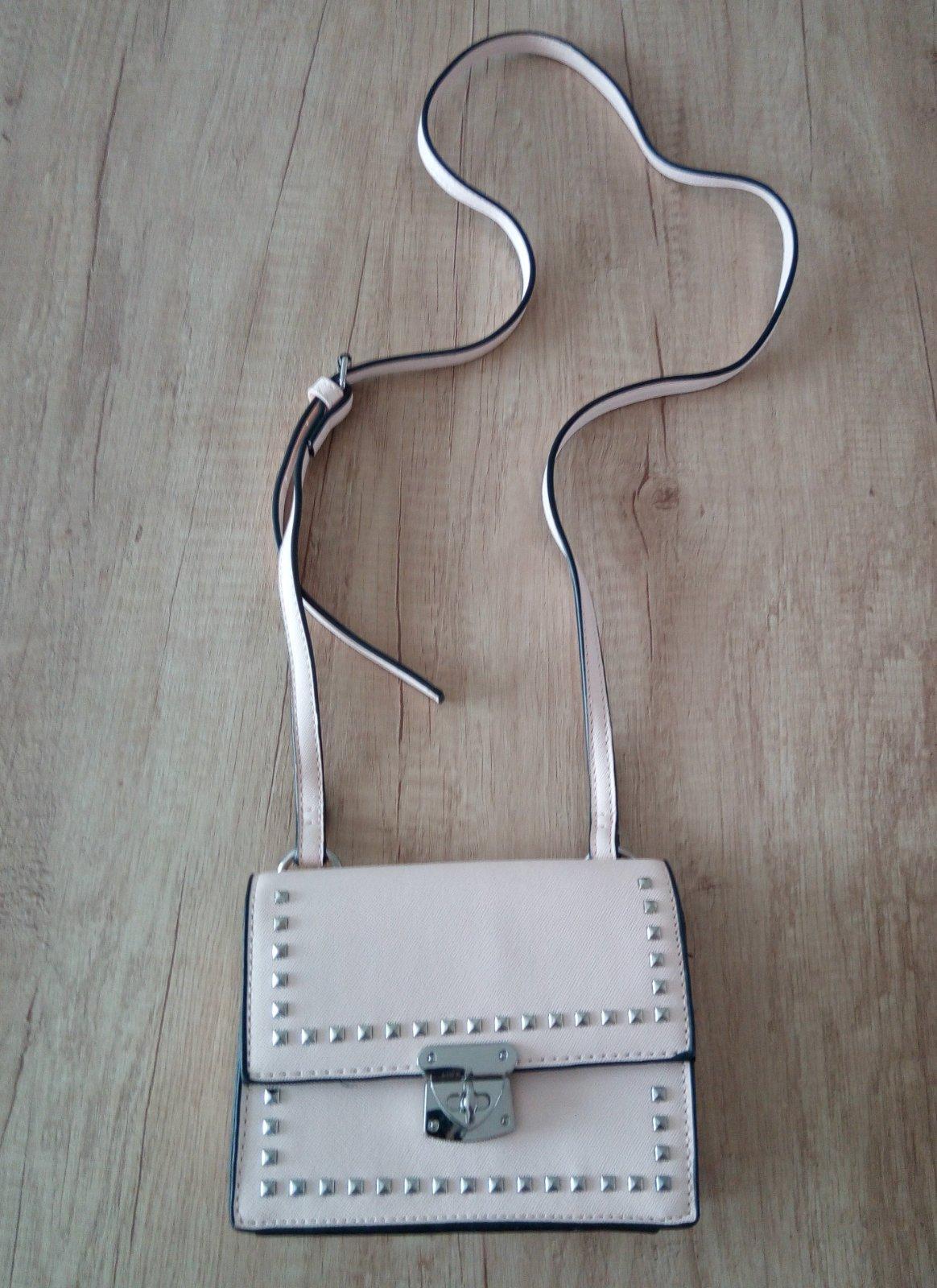 Malá bledoružová kabelka - Obrázok č. 1