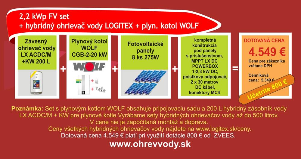 Dotácia na kotol WOLF a FV systém LOGITEX od ZVEES až 800 € - Obrázok č. 5