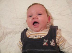 Toto je náš brouček Anetka *26.12.2010