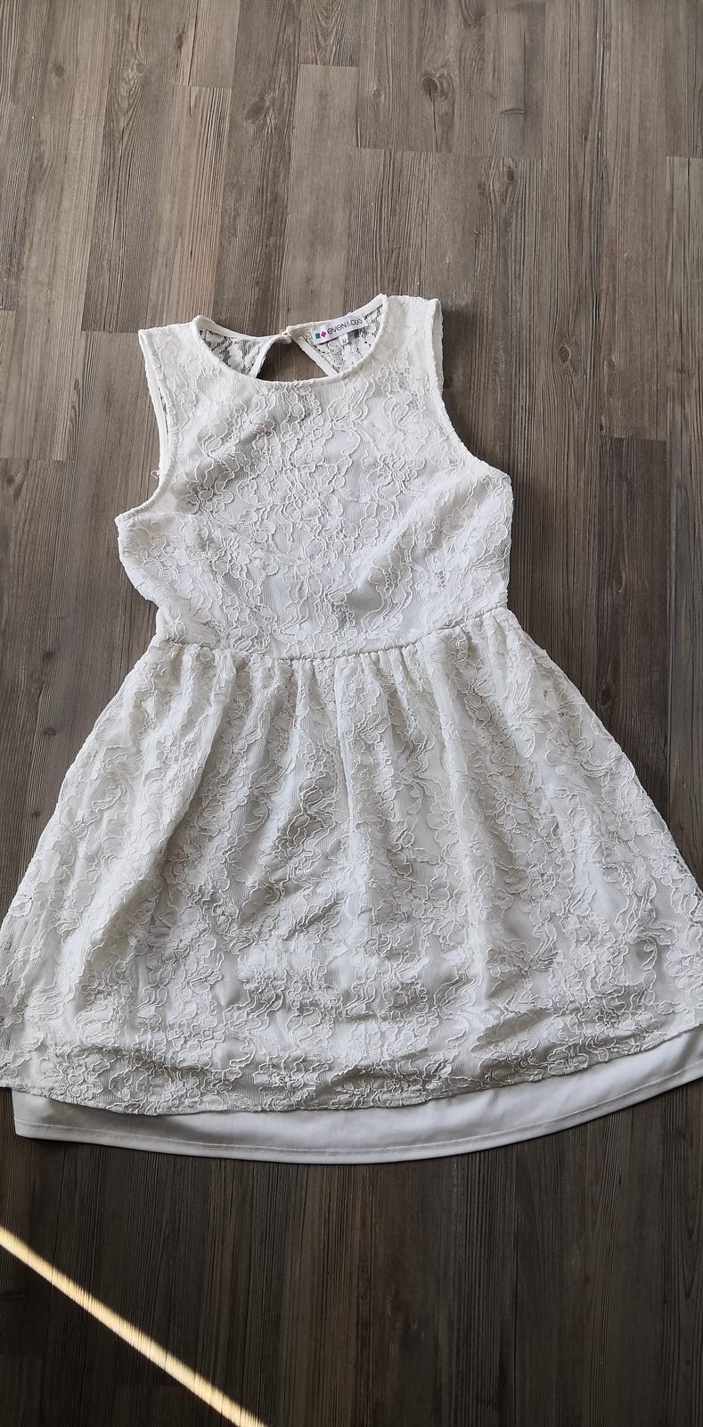 Krajkové krátké (popůlnoční) šaty - Obrázek č. 4