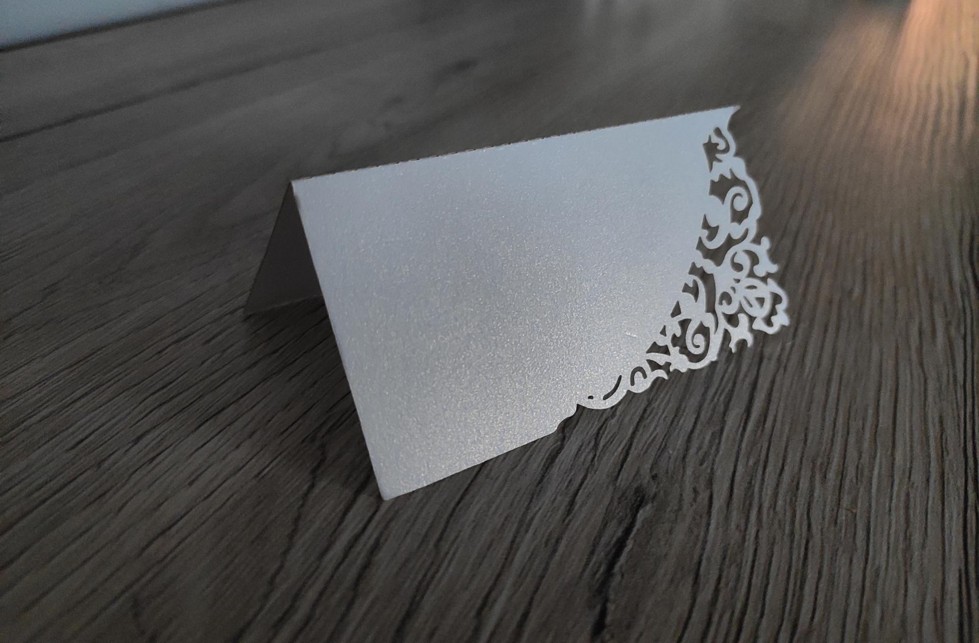 🌺Naša svadbička🌺 - Menovky perleťový papier