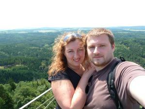 1. výročí svatby - víkned v Hřensku
