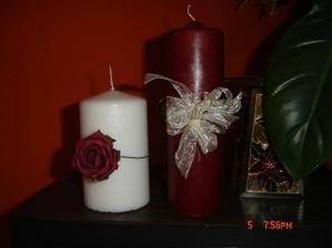 ..vybíráme svíčky..