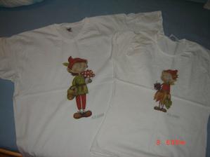 ..máme i svatební trička :-)
