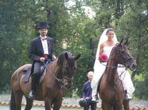 Přijeli jsme na koních..