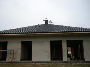 Pohlad zo zadnej strany domu