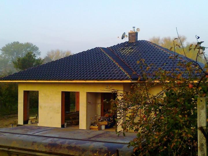 Bungalow 880 - Pohlad z prednej strany domu.