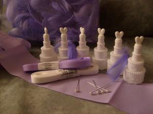 ...další várka svatebních věciček...