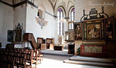 nádherná kaple sv. Vojtěcha...