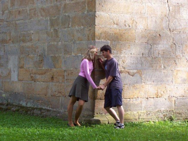 Kačenka a Zdenda (Brandejsovi) 7.7. 2007 - vždy si máme co říci