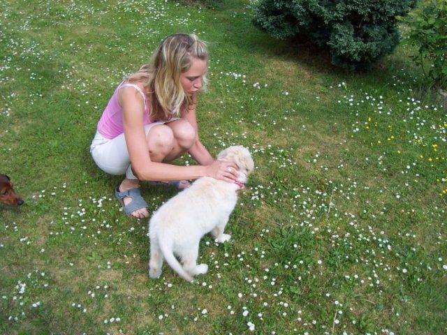Kačenka a Zdenda (Brandejsovi) 7.7. 2007 - ... je to svatební dar od mé svědkyně Lenky
