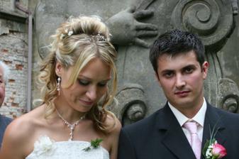 cudná nevěsta? nerada se fotim