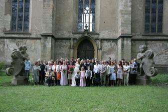 tak tohle je celá svatební banda