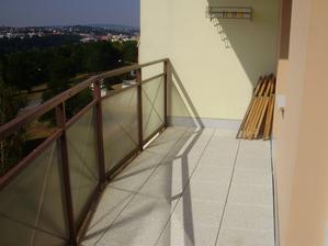 Balkón 7,2 m2