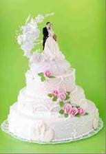 inspirace na dortík