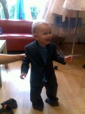 můj synovec, aneb další frajer na svatbě:-)