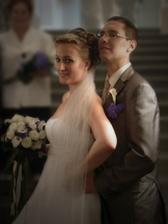 pózujeme po svatbě