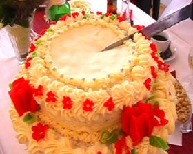 Svatební dort...