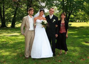 ... s Davem a Janičkou, kteří už to mají také za pár.