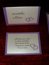 Zaujímavé pozvánky k svadobnému stolu...