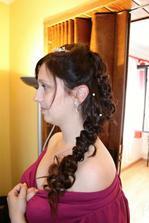 Další zkouška - už s prodloužením vlasů a je to mnohem lepší :-)