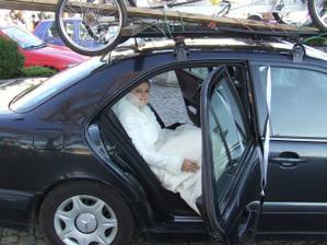 Malý krok pro člověka, ale velký pro nevěstu:-)