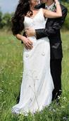 Vintage svadobné šaty La Sposa model Sharon, 34