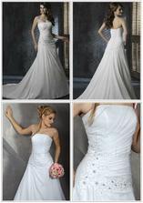 Šaty na promo fotce vypadají dost jinak než v reálu :-(