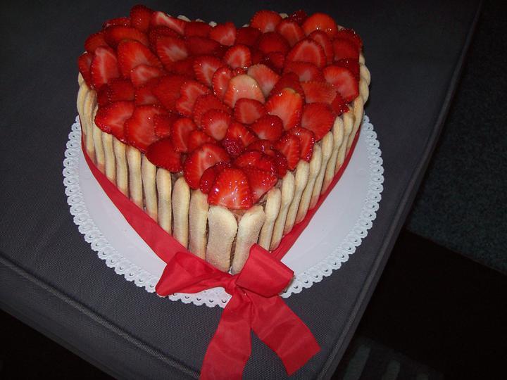 Zkušební dort - byl výborný!