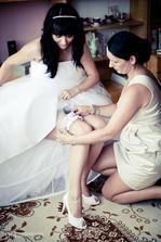 Sestra, svědek, koordinátorka....prostě nejdůležitější člověk na svatbě !!!