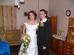 ženich si přišel pro nevěstu:))