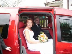 odjezd nevěsty