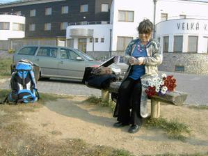 ráno před svatební cestou