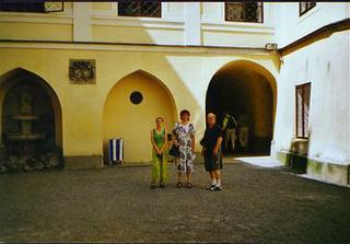 já, budoucí tchán a tchýně na dovolemé v roce 2002