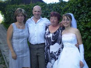 Já,mamka,sestra a jeden člen kapali