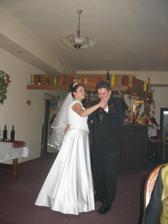 zahajovací tanec novomanželů