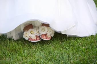 mať takéto sandáliky...