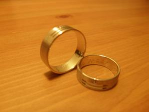 naše prstýnky - spokojenost :-)