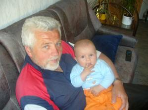 s mým milovaným tatínkem
