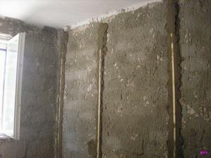aby steny boli rovne