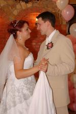 prvy spoločný tanec ako manželia