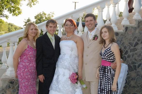 "MARIKA{{_AND_}}MATKO - moja draha birmovna krstna mama s jej detmi: Emily a ""strazcom mojich šiat"" Jakubom"
