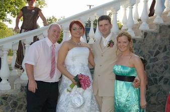 s kamaratkou Alenkou a jej manželom Markom, We love you