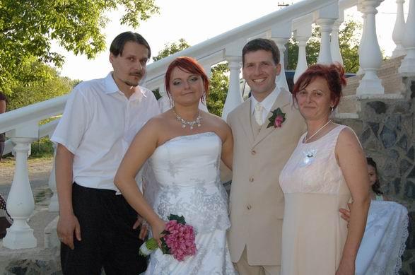 MARIKA{{_AND_}}MATKO - so svadobnou mamičkou a jej manželom