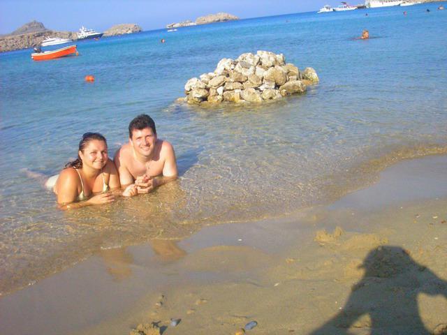 MARIKA{{_AND_}}MATKO - pláže Lindosu