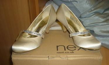 Tieto som si kúpila na prezutie, keby som už odpadávala na tých 10cm opätkoch :))