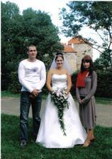 s bráškou a sestřičkou